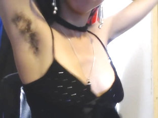 Hairy Armpits out to play, Tits out, Shaking, Bouncing, Going in Circles