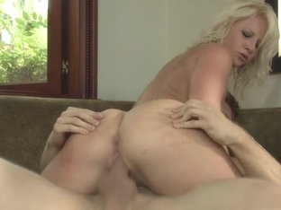Hottest pornstar Kimmy Olsen in best creampie, blonde porn movie