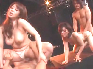 Exotic Japanese slut Maki Tomada, Chisato Shouda, Honami Takasaka in Crazy Big Tits, Group Sex JAV.