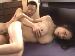 Exotic Japanese chick Kyouko Maki in Crazy Big Tits, Cunnilingus JAV video