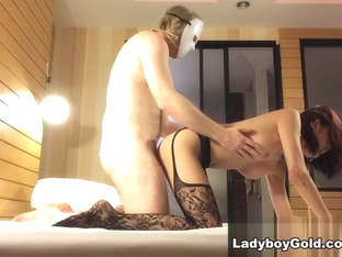Hair on Fire - LadyboyGold