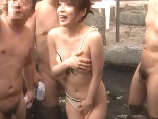 Exotic Japanese slut Aya Sakurai in Amazing Public, Shower JAV clip
