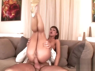 Sexy Angelina Crow loved having a thick dong deep inside of her anus