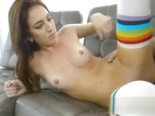 Teen Aubrey Rose Loves Landlords Big Cock And Jizz