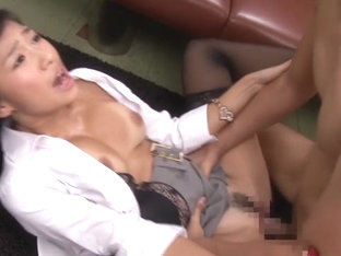 Amazing Japanese model in Hottest Nurse, Office JAV clip