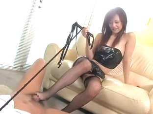 Hottest Japanese girl in Amazing Cougar, Stockings/Pansuto JAV clip