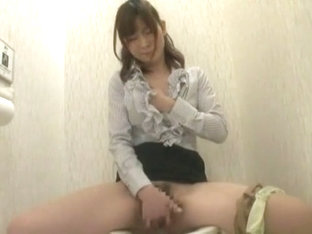 Amazing Japanese chick Chiharu Nakai in Horny Secretary, Handjobs JAV video