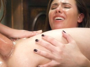 Hottest fetish, squirting xxx video with amazing pornstars Cassandra Nix and Casey Calvert from Ev.