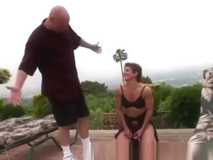 Mature Fitness Model Seduces A Lucky Submissive Perv