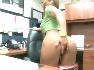 Esperanza Gomez Office Fuck