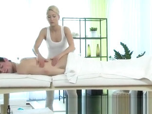 Young Guy Getting it at a Swedish Massage