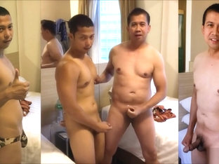 two guys pinoy jacking off