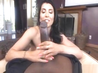 Tight Brunette Pornstar Loves Black Dick