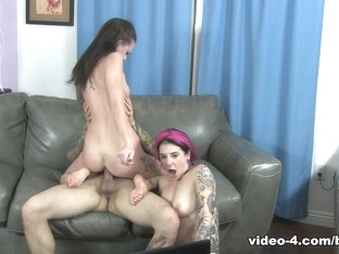Fabulous pornstars Small Hands, Joanna Angel, Kendra Cole in Amazing Threesomes, Natural Tits xxx .
