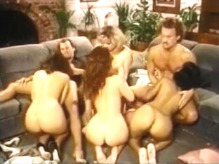 Brandy Wine, Lisa Bright, Nina DePonca, Jennifer Steel orgy