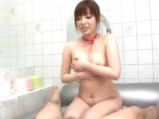 Best Japanese model Aya Sakurai in Horny Handjob, Amateur JAV movie