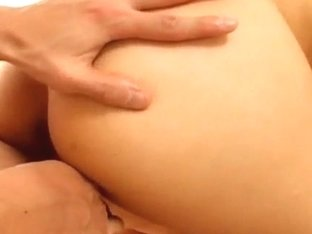 Momo Junna gets fingers, tongue and phallus in hairy lo