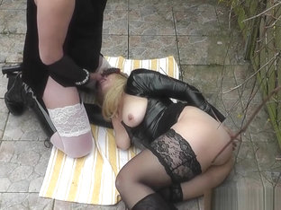 T-Girls and crossdressers dogging and outdoor sex