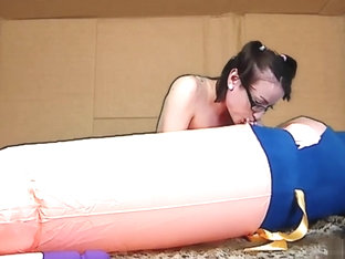 AdalynnX - Inflatable Cock In A Box 2!