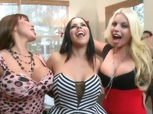 College party gets invaded by big ass Pornstars