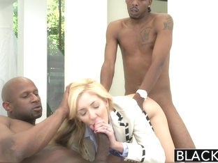 BLACKED 2 Big Black Dicks for Emily Kae