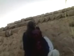 Pakistani Village Girl Fucking Hiding Against Wall