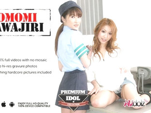 Momomi Sawajiri And Policewoman In Hot Lesbian Action - Avidolz