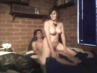 Big breasted amateur fucked by her boyfriend