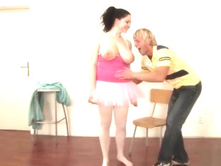Horny Ballerina Gets Drilled In Hardcore Fashion