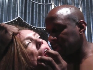 Bdsm Sub Throated By Her Master