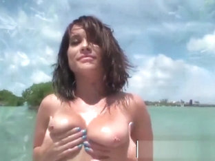 MOFOS - Kylie Sky has some fun and fucking in the sun