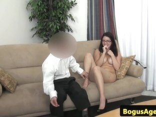 glasses euro honey pussydrilled by dwarf agent