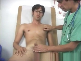 Penis medical voyeur gay first time Dr. Phingerphuck masturbated me off