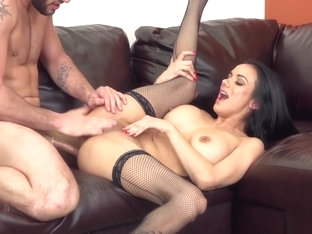 Nadia Styles Leaves The Stockings On While Fucked