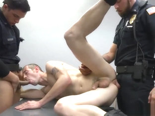 Hairy gay cop nude soft first time Two daddies are nicer than one