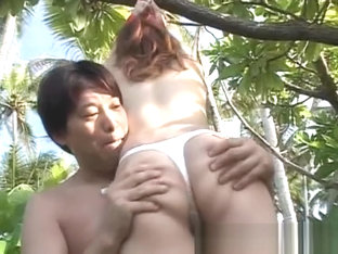 Ann Nanba Japanese babe gets super part1