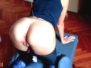 Teen in Yoga Pants Gets Her Tight Pussy Fucked by the Roommate