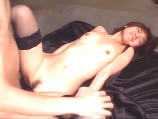 Mao Saito amazing scenes of great Japanese group sex