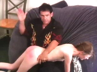 Melissa Ashley - Hard Hand Spanking by Dallas