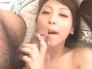 Horny Japanese chick An Shinohara in Amazing Facial, POV JAV clip