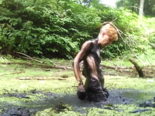 Nude Mud Bath