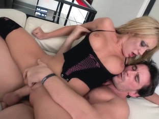 Sexy Blonde Amy Brooke In A Kinky Wild Hardcore Sex