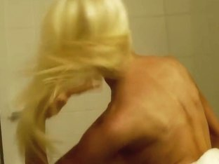 The end. Tits cumshot and shower