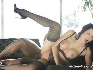 Milf Ania Kinski Squirts On Her First Interracial Dick - Private