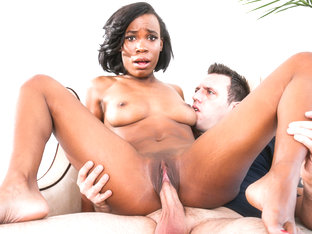 Ivy Logan & Mark Zane in I Like Black Girls #06, Scene #03 - DevilsFilm