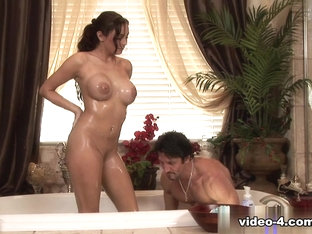 Incredible pornstar Danni Cole in Exotic Showers, Blowjob adult video