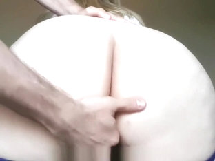 School Girl Gets Pussy Toyed And Ass Cummed On