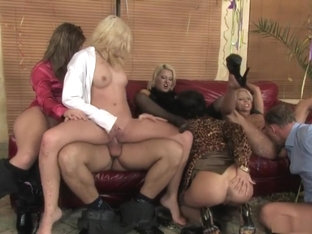 Fabulous pornstars Black Diamond, Laura King and Antynia Rouge in horny blonde, brazilian xxx video