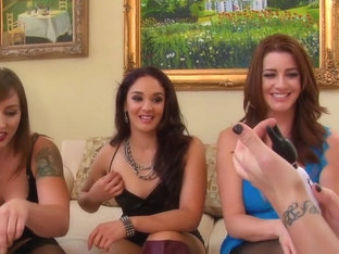 Amazing pornstars Shay Fox, Alice Frost and Cici Rhodes in horny big tits, milf xxx scene