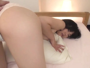 Ruri Okino Tries Cock In Her Mouth And In Her Pussy